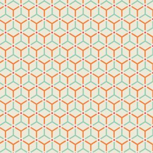 Image of Hex design vinyl flooring from For the Floor & More