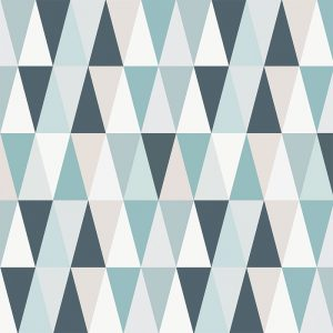 Image of Kaleidoscope Blue design vinyl flooring from For the Floor & More