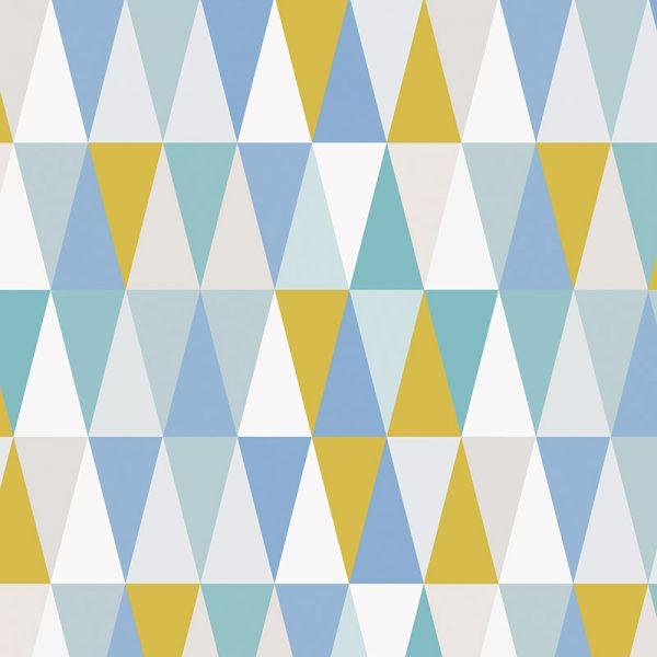 Image of Kaleidoscope Lime design vinyl flooring from For the Floor & More