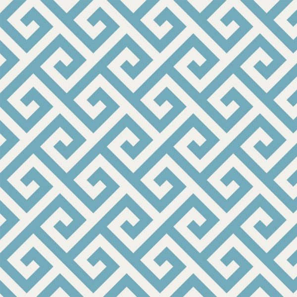 Image of Maze Blue design vinyl flooring and Feature Tile from For the Floor & More