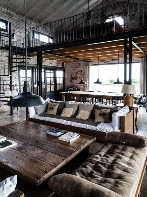 Industrial home decor - For the Floor & More