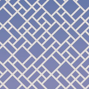 Image of Grafyx blue bold geometric design with a subtle ombre colour fade. Wonderful design from forthefloorandmore.com