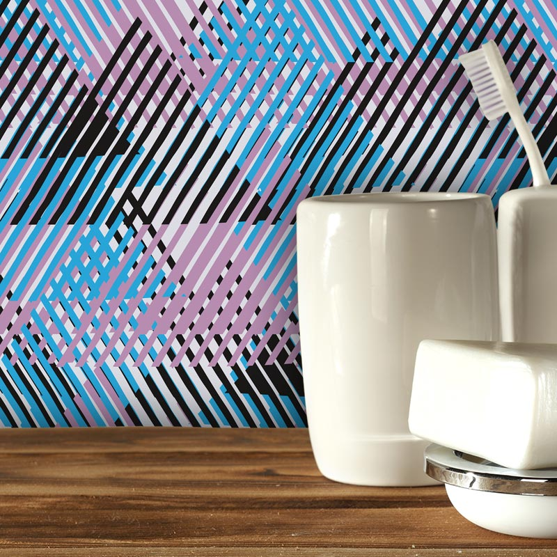 Alata Geometric Design By Mort Hex Available As A Kitchen