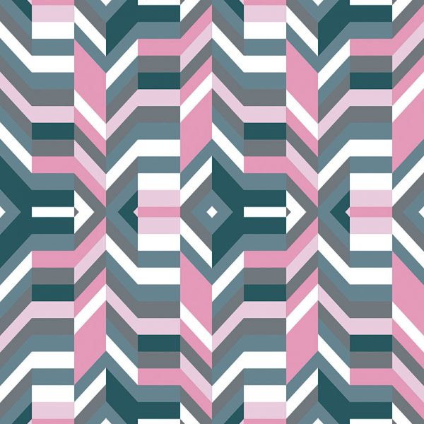Image of Aldo geometric design by Mort & Hex available as a kitchen splashback, wallpaper, glass Feature Tile and vinyl flooring