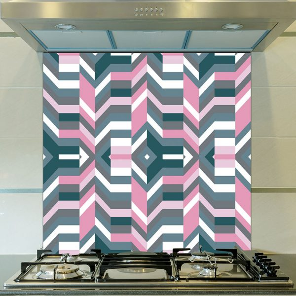 Image of Aldo pattern design as a glass splashback from forthefloorandmore.com