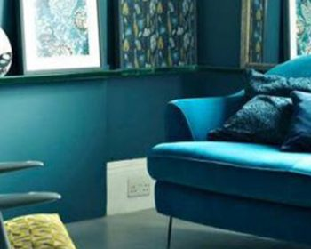 beautiful-teal-blue-green-harmonious-decor from for the floor and more