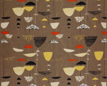 Calyx textile design by Lucienne Day used in a blog by forthefloorandmore.com