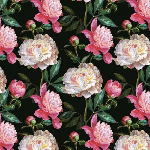 Kelde floral pattern large format Feature Tile, wallpaper or kitchen splashback from forthefloorandmore.com