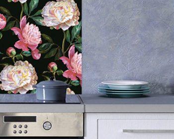 New Floral Splashback Designs – which one matches your kitchen?