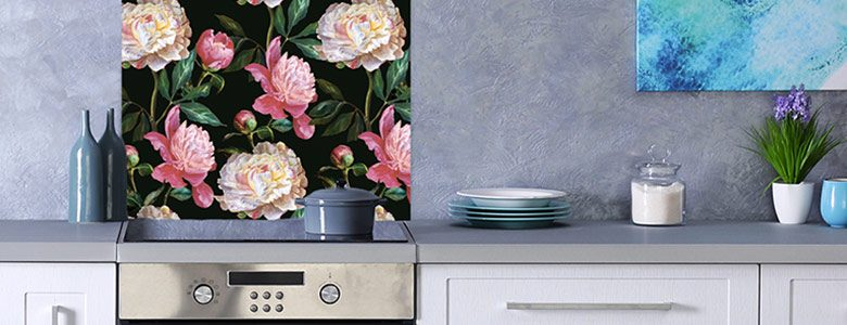 New Floral Splashback Designs – which one matches your kitchen?