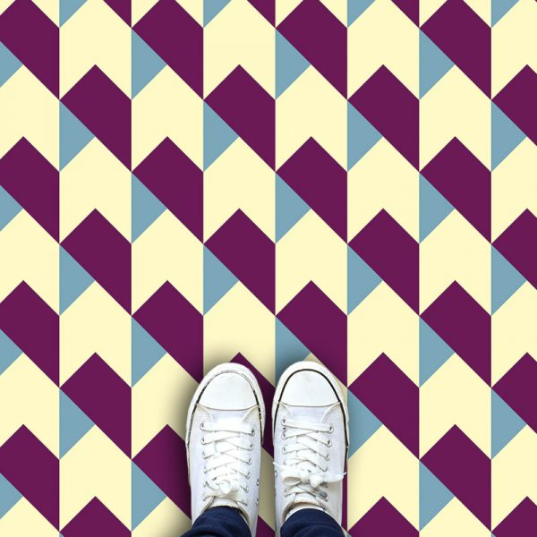 Harrow patterned printed vinyl flooring - oodles of style and impact. A classy interpretation of a distinctive design. Make a real impression with your flooring!