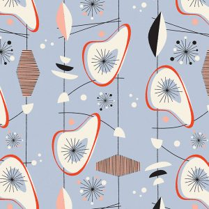 Osten pattern inspired by Lucienne Day and part of our new SS17 collections