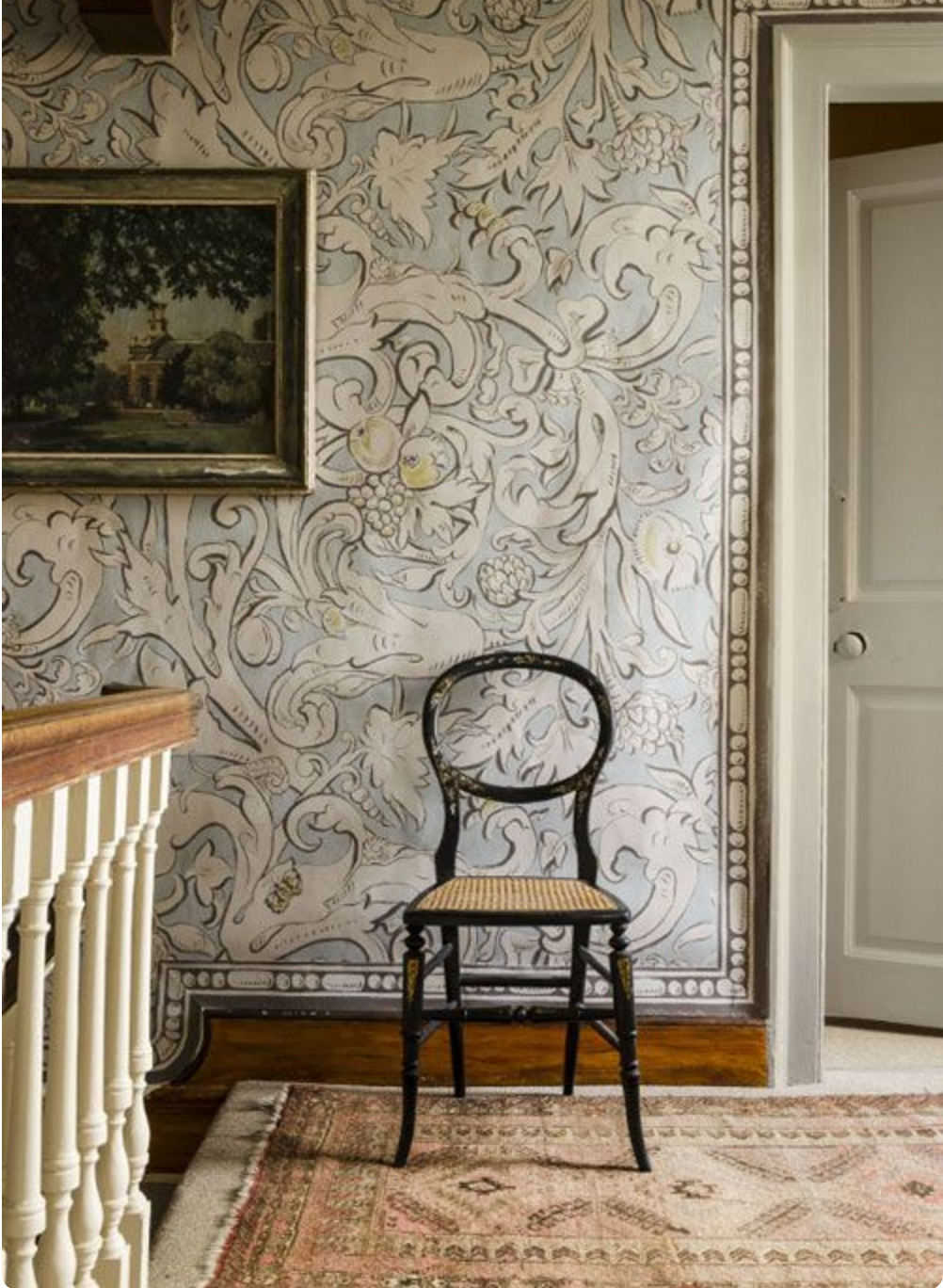 Image of Lewis and Wood wallpaper from Joanna Wood Interior Designer