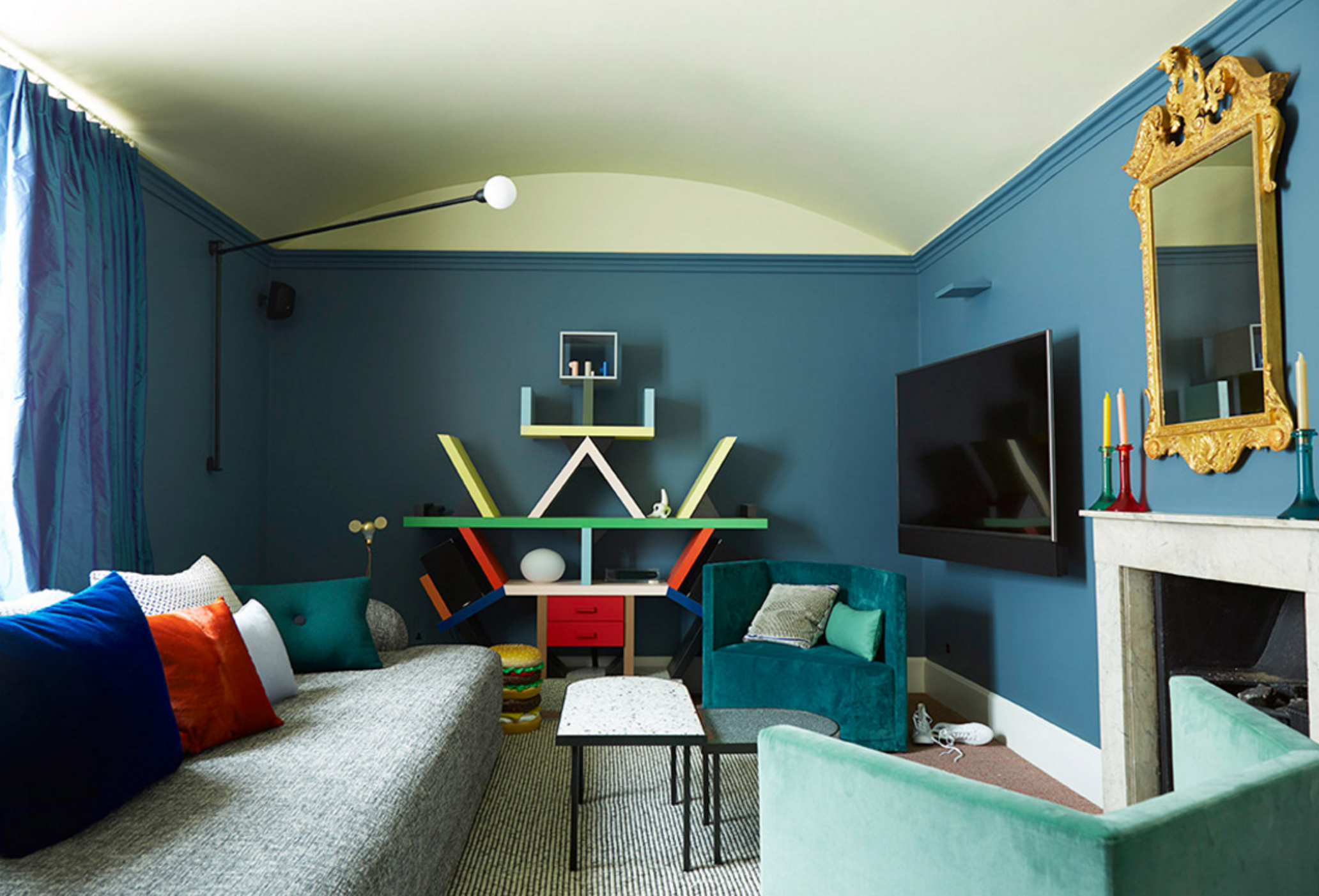 Image of a room by Tom Bartlett and Waldo Works interior design