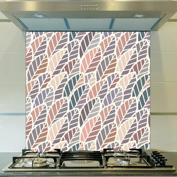 Apolima pattern design as a bespoke kitchen glass splashback from For the Floor and More