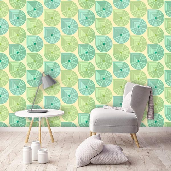 Image of Sommer design available as a colourful and vibrant made to measure wallpaper mural from forthefloorandmore.com