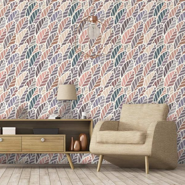 Apolima pattern design as a made to measure bespoke wallpaper from For the Floor and More