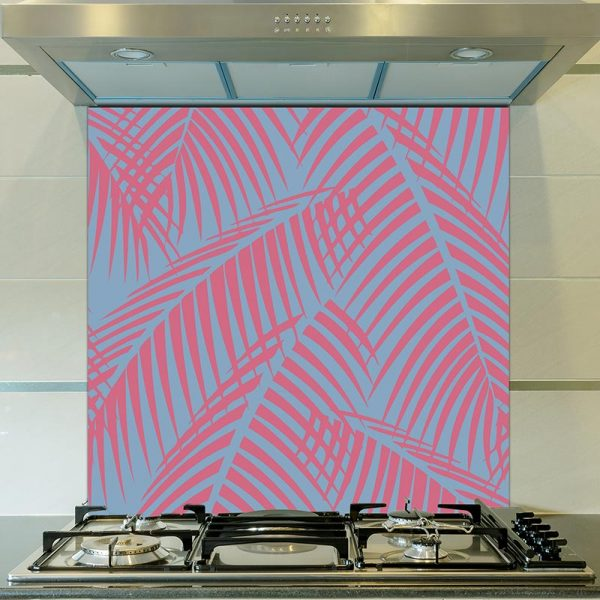 Image of exclusive Bikini tropical pattern designed for glass splashback from For the Floor & More