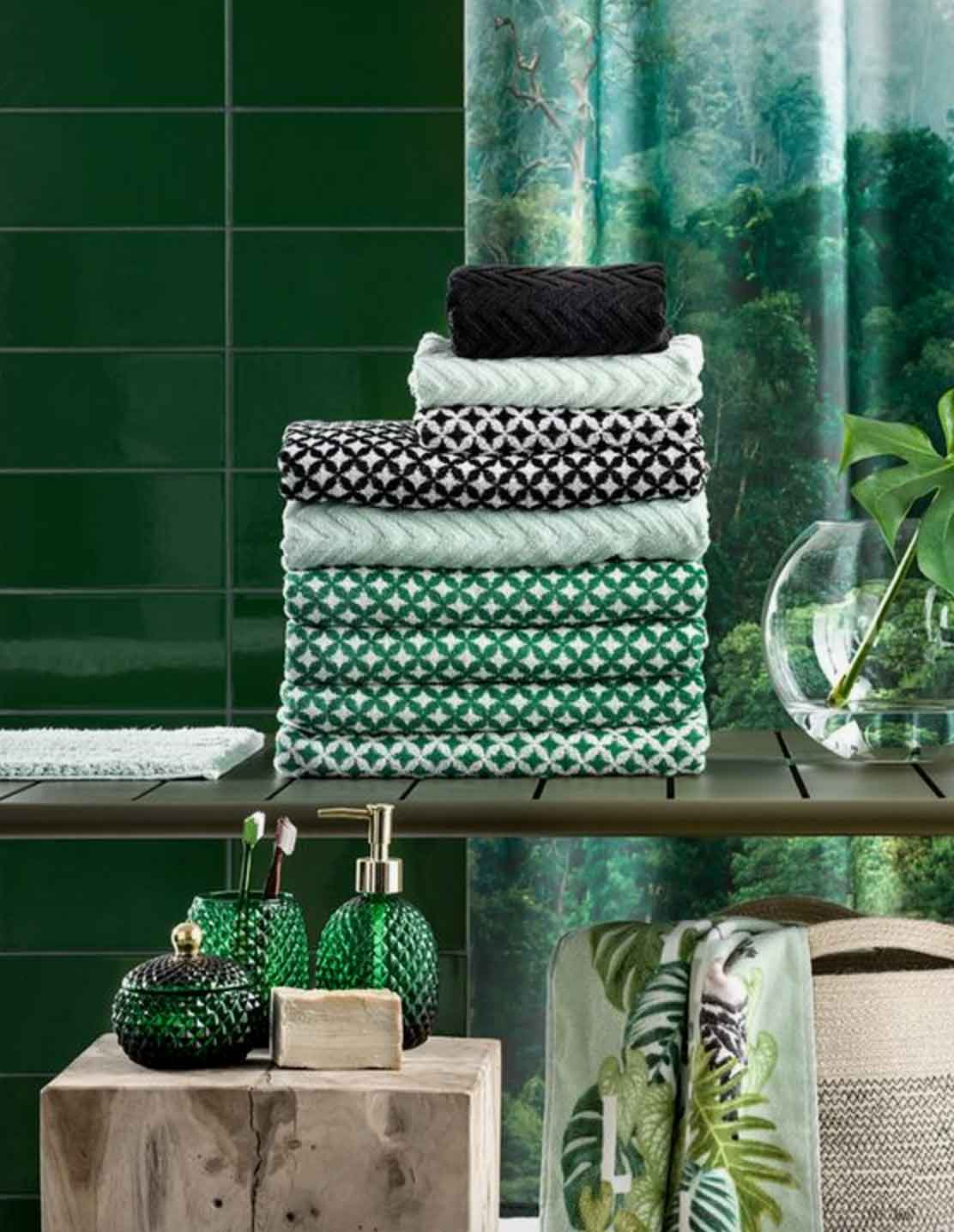 Image of H&M towels from Pinterest