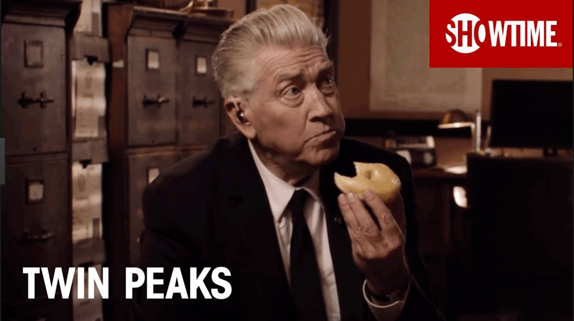 Image of David Lynch. Twin Peaks returns to the TV after 25 years