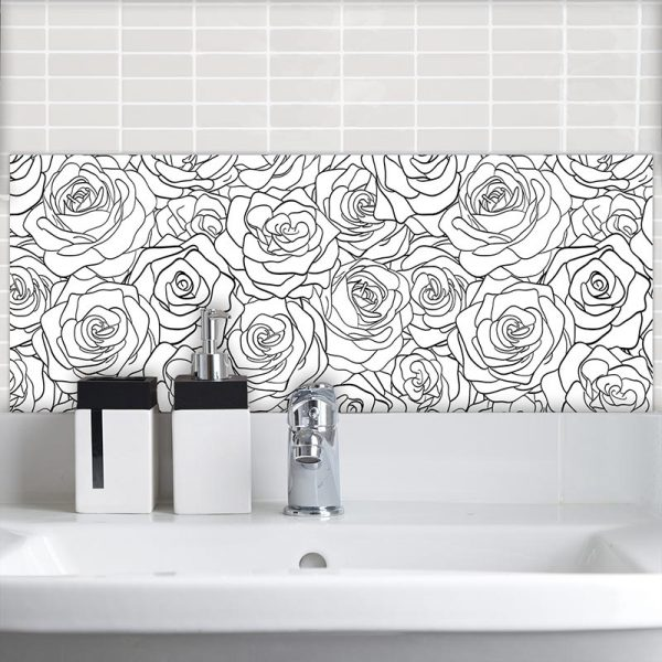 Image of Eline pattern design as a Feature Tile from forthefloorandmore.com