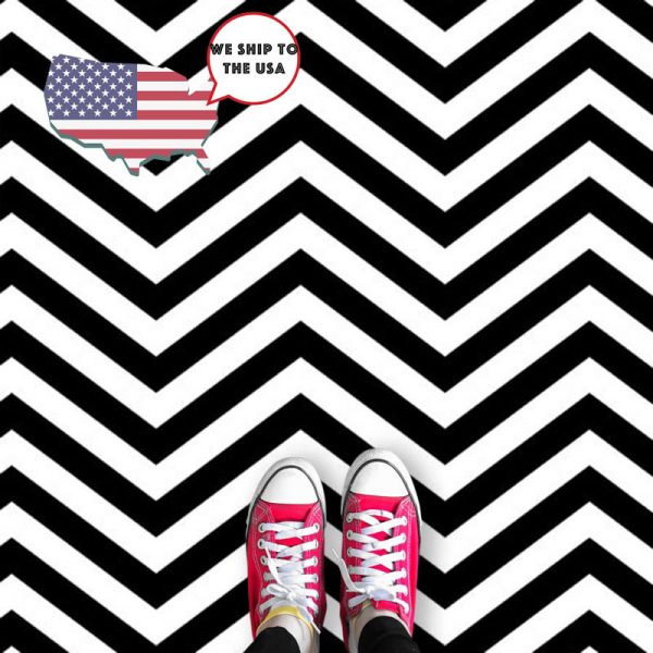 Image of Cooper design Twin Peaks flooring available as a colourful and vibrant made to measure wallpaper mural from forthefloorandmore.com