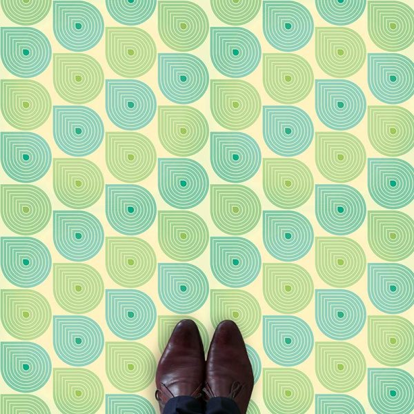 Image of bespoke Sommer vinyl flooring - oodles of style and impact. A classy interpretation of a distinctive design. Make a real impression with your flooring!