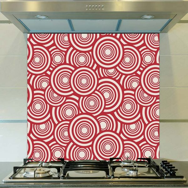 Image of Cirque pattern design as a printed glass splashback from forthefloorandmore.com