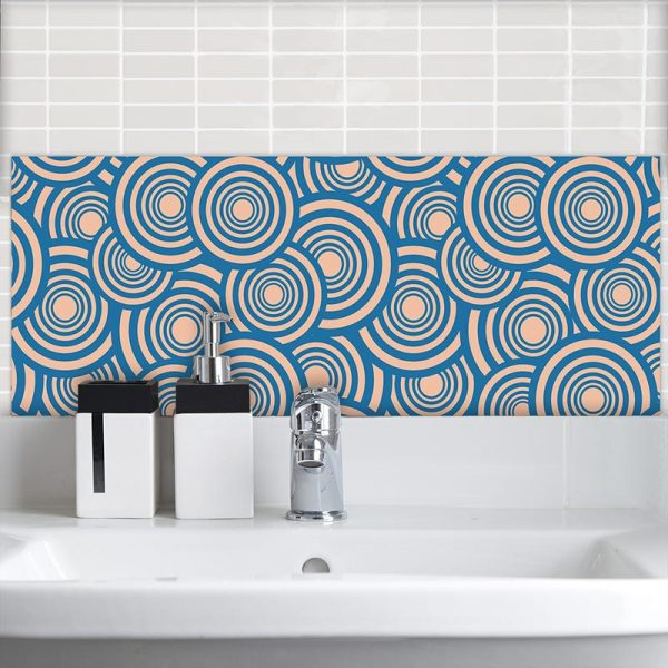 Image of Cirque II pattern design as a Feature Tile from forthefloorandmore.com