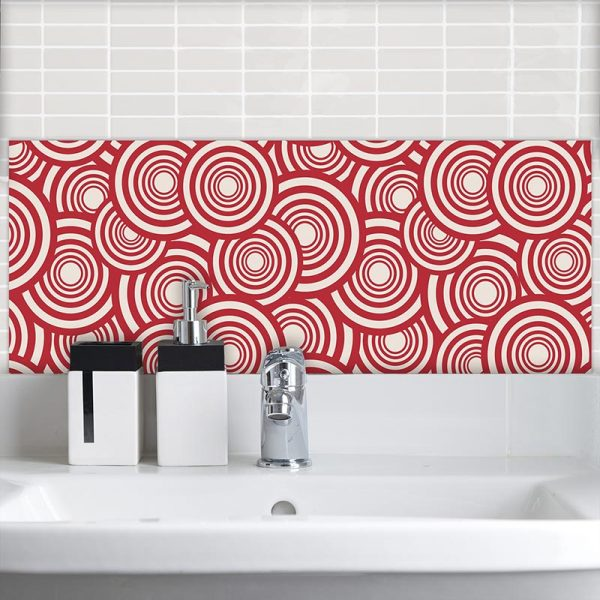 Image of Cirque pattern design as a Feature Tile from forthefloorandmore.com