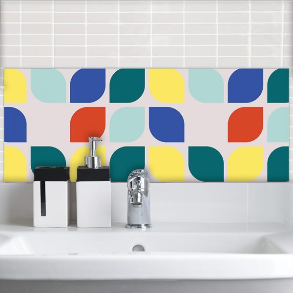 Image of Kaskad pattern design as a Feature Tile from forthefloorandmore.com