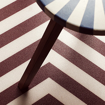Twin Peaks inspired vinyl flooring from forthefloorandmore.com