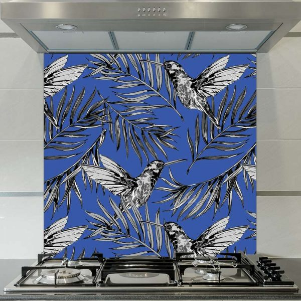 Image of Liling oriental patterned glass splashback available from forthefloorandmore.com