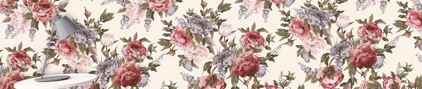 Image of Carin feature wallpaper - floral murals at their best! From forthefloorandmore.com