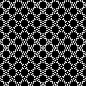 Image of Antlia black bold geometric design. Wonderful geometric design from forthefloorandmore.com