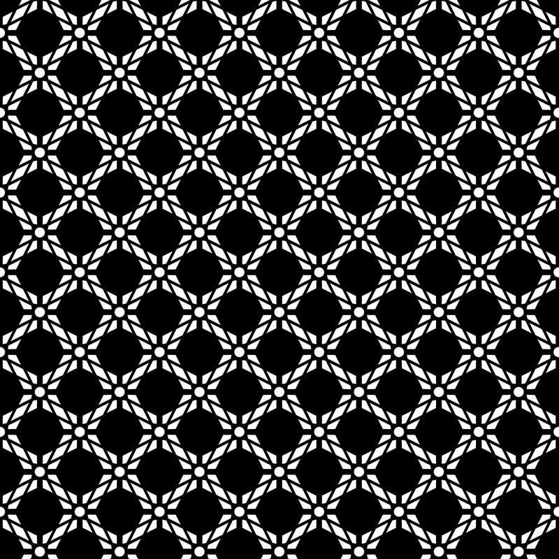 Image of Antlia black bold geometric design. Wonderful geometric design from forthefloorandmore.com