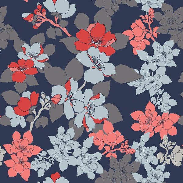 Image of Elsa floral design by Rose Quartz and available through For the Floor and More
