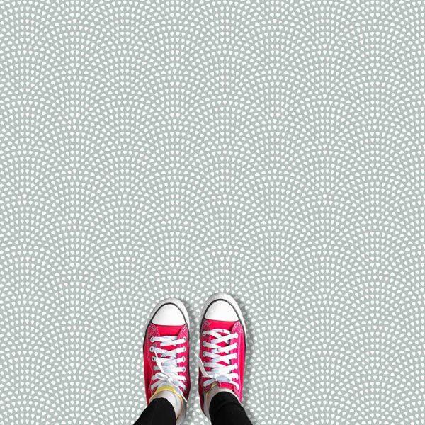 Image of Itsu dot pattern vinyl flooring design from forthefloorandmore.com
