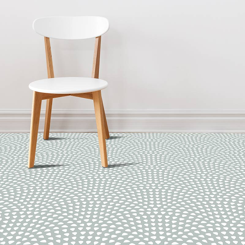Image of Itsu dot pattern modern vinyl flooring design from forthefloorandmore.com
