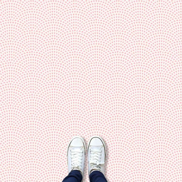 Image of Pokki dot pattern vinyl flooring design from forthefloorandmore.com