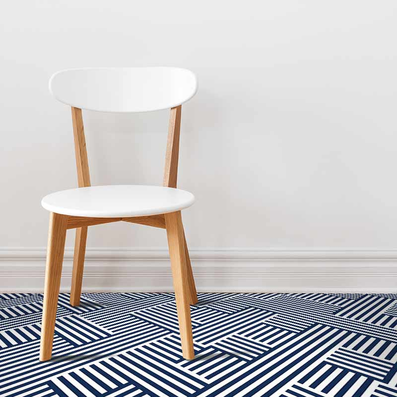 Image of Strand geometric flooring from forthefloorandmore.com