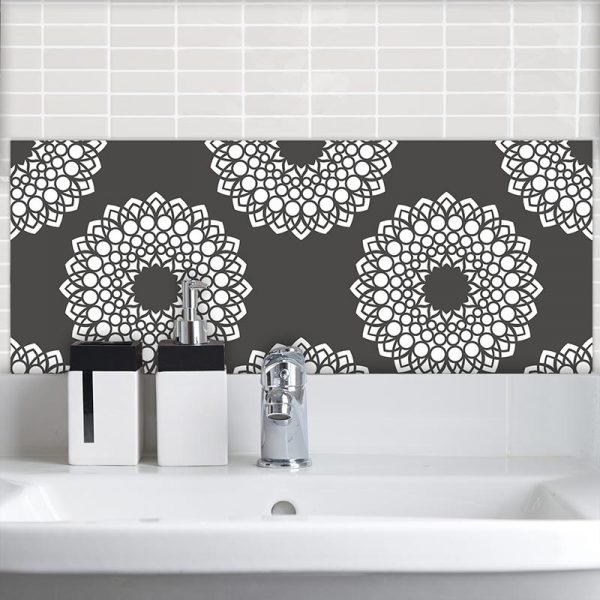 Image of Doki dot Feature Tile pattern design from forthefloorandmore.com
