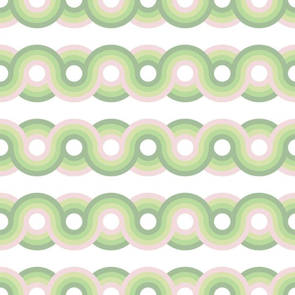 Image of Kawaii dot pattern from forthefloorandmore.com