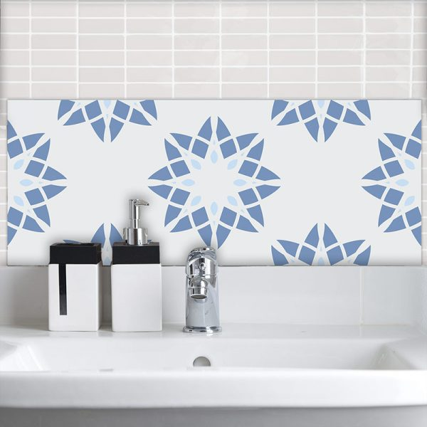 Image of Delen pattern design as a Feature Tile is all about the cubes and the colour from forthefloorandmore.com