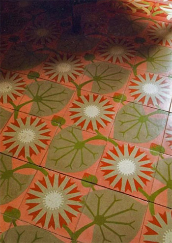 Barcelona flooring tile pattern from forthefloorandmore.com