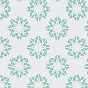 Image of Cerié pattern design is all about the cubes and the colour from forthefloorandmore.com