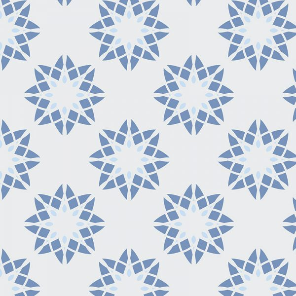Image of Delen pattern design is all about the cubes and the colour from forthefloorandmore.com