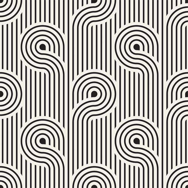 Image of Atik geometric home decor pattern available as a Feature Tile, splashback, wallpaper mural design or vinyl floor covering from forthefloorandmore.com