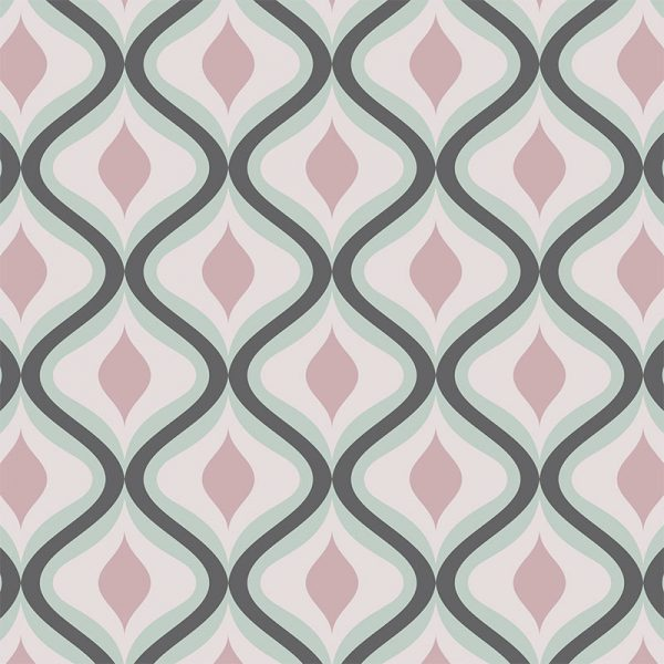 Image of our Jolo geometric home decor pattern available as a Feature Tile, splashback, wallpaper mural design or vinyl floor covering from forthefloorandmore.com