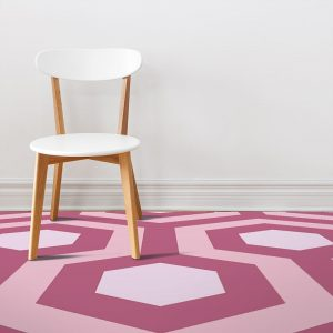 Image showing alternative ideas and variations on our movie The Shining inspired vinyl flooring patterns